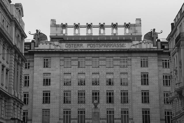 Postal Savings Bank, Vienna. Architect: Otto Wagner