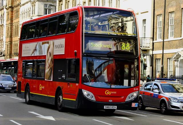SN60BZA E129 go-ahead london