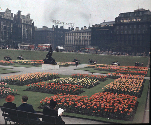Before the Storm: Piccadilly Gardens 1940