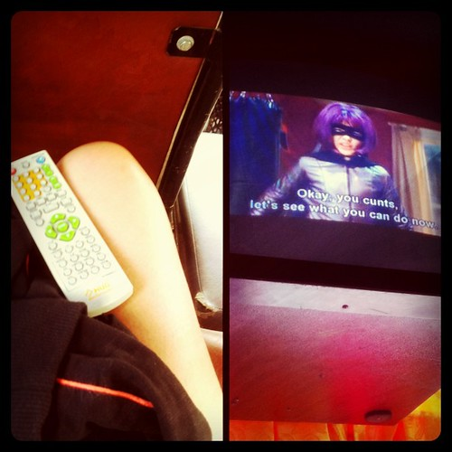 Leg, remote, & Kick-Ass