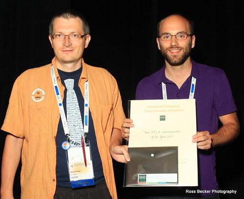 IFLA Communicator of the Year 2011