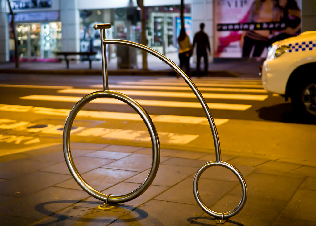 Bicycle Rack or Art?