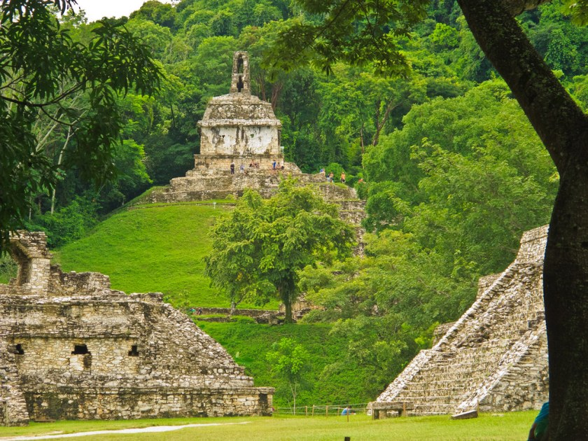 Temple in Palenque