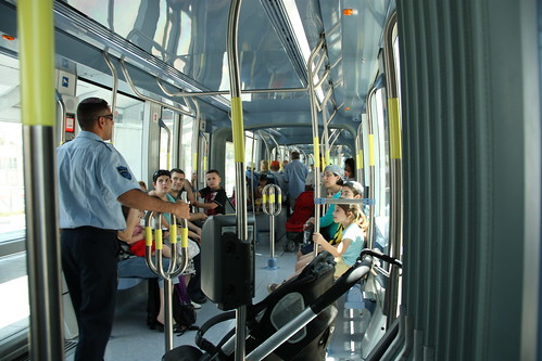 Jerusalem Light Rail, Opening Day