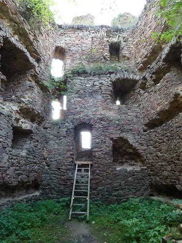 Ruiny Zamku w Świeciu by Polek