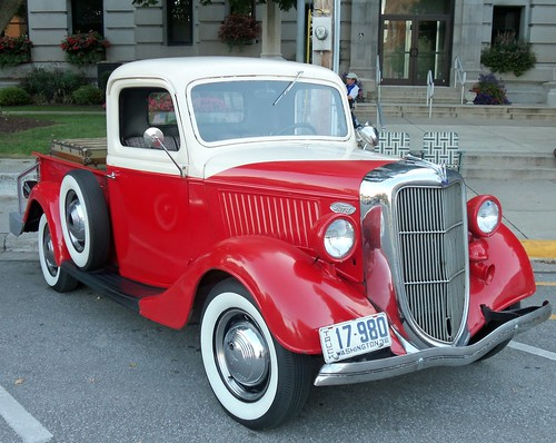 1936 Ford pick-up truck by bjebie