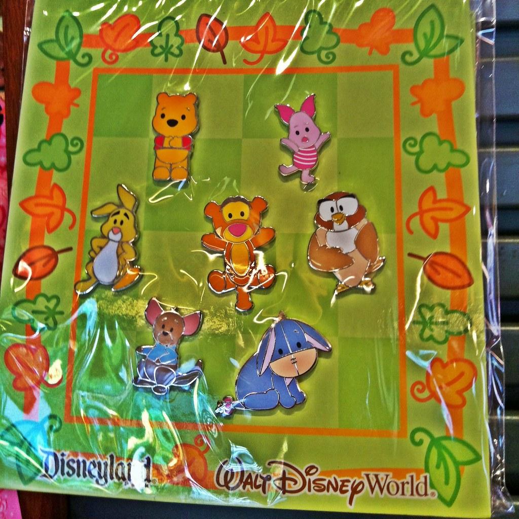 Disney Pooh & Pals Trading Pins