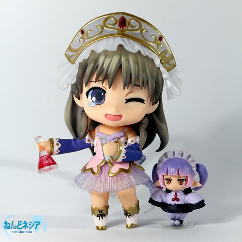 W-w-what's wrong, Totori!? XD