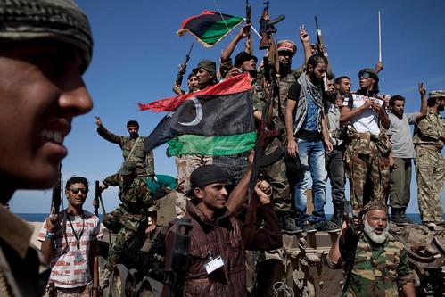 Violent End to an Era as Qaddafi Dies in Libya by turtle5001tw