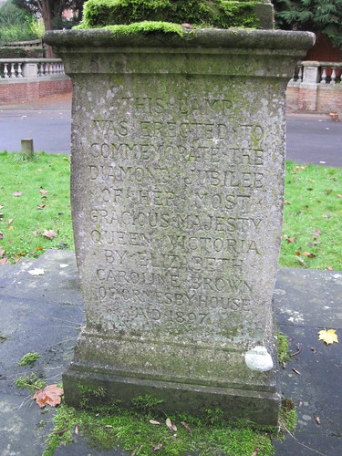 Elizabeth Caroline Brown Lamp / Cross, Ormesby