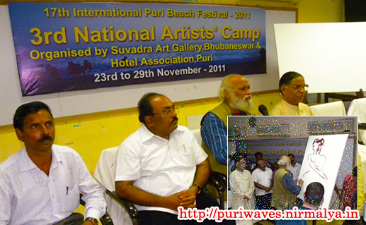 3rd National Artist Camp At Puri
