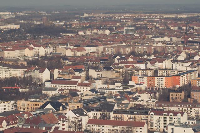 Above Leipzig