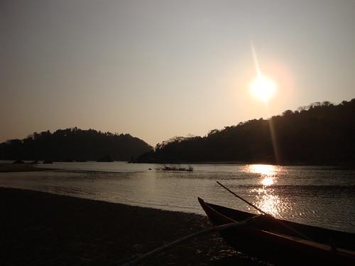 Fishing Boat at Sundown