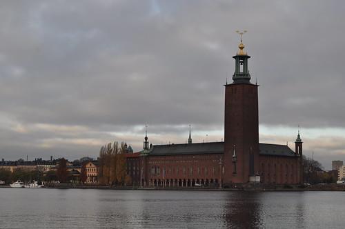 2011.11.10.032 - STOCKHOLM - Gamla stan - Norra Riddarholmshamnen - Stockholms stadshus