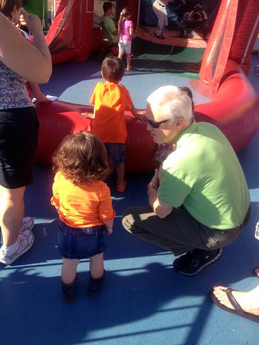 annie and grandpa