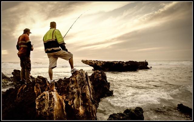 Fishin Trigg beach