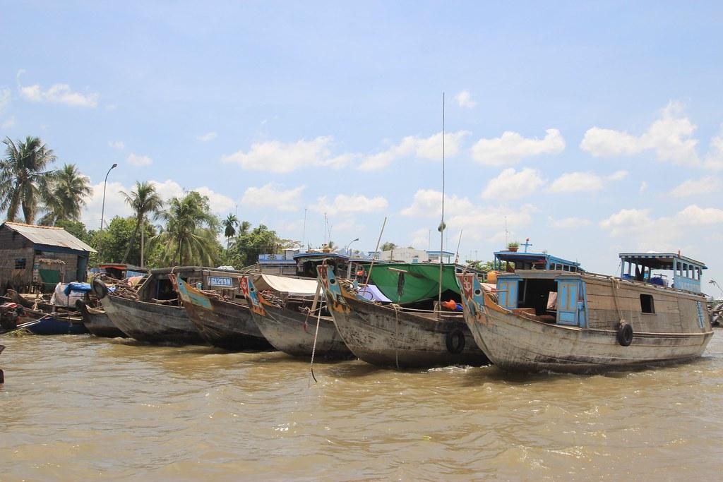 Floating Markets - Mekong Delta, Vietnam