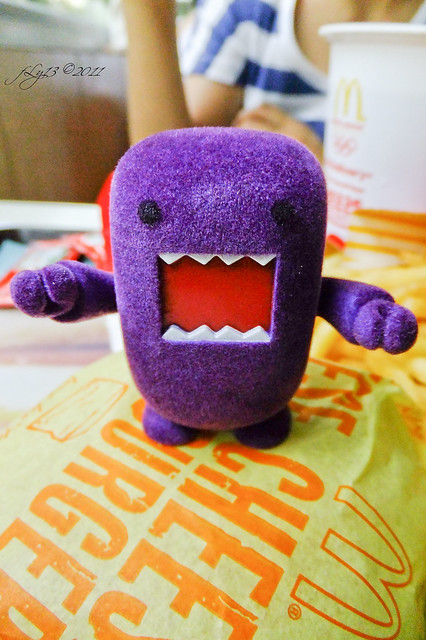 Purple Domo at McDonald