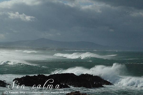 Mar sin calma. Costa asturiana