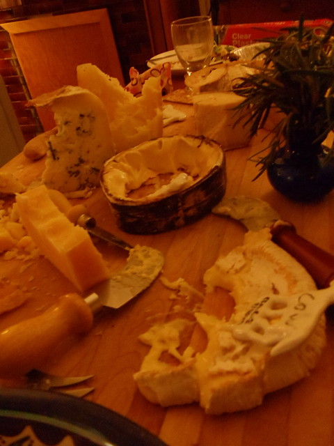 the cheese plate is dead