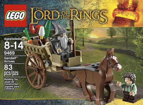 LEGO The Lord of the Rings 2012 9469 Gandalf Arrives