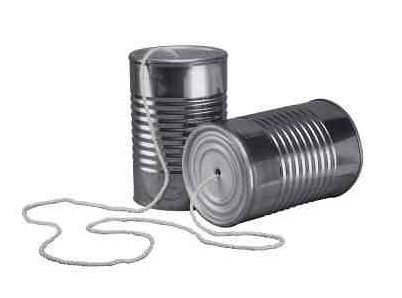 string and cup telephone
