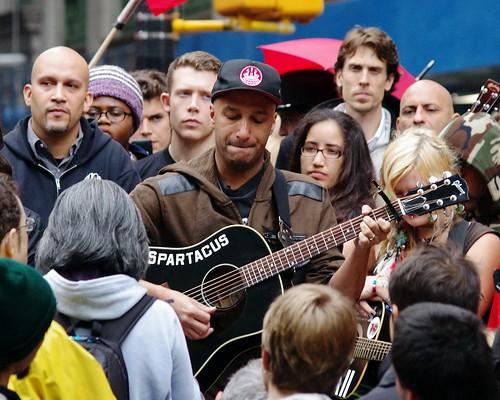 Day 28 Occupy Wall Street Tom Morello 2011 Shankbone 4