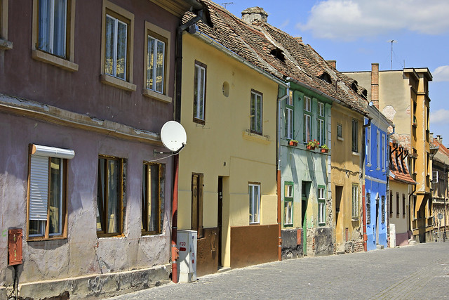 typical street in the old town