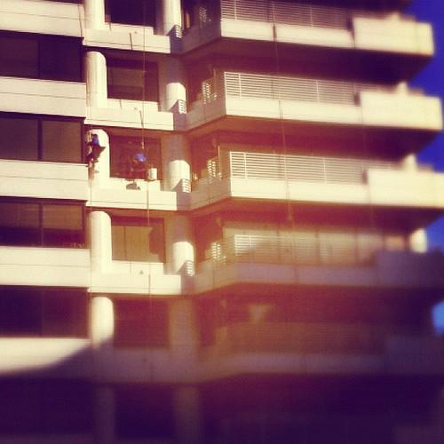 112: window washing is dangerous work.