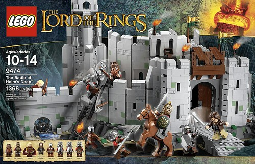LEGO The Lord of the Rings 2012 9474 The Battle Of Helm's Deep