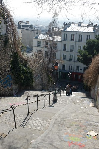 up and around Montmartre
