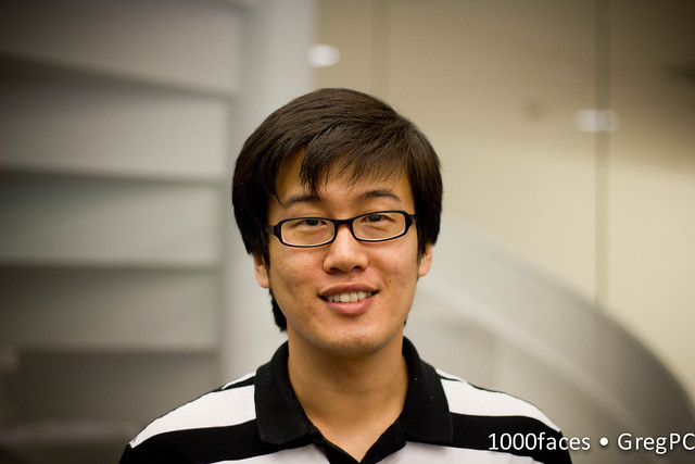Face - smiling man with glasses at the MIT Media Lab