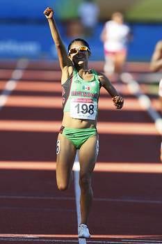 Marisol Romero gana oro en los 10 mil metros en el atletismo Panamericano