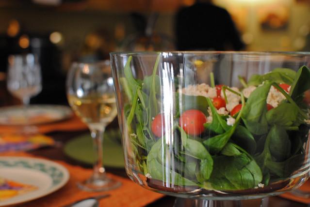 Salad & Table