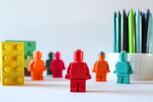 crayon legos