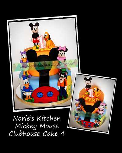 Norie's Kitchen - Mickey Mouse Clubhouse Cake 4 by Norie's Kitchen
