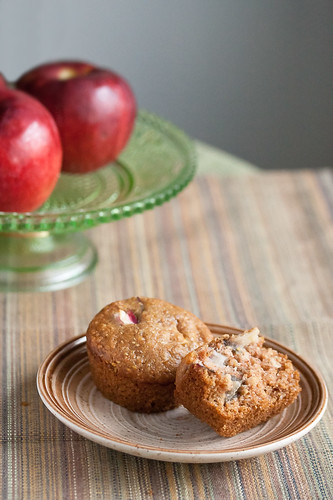 Apple Multigrain Muffins