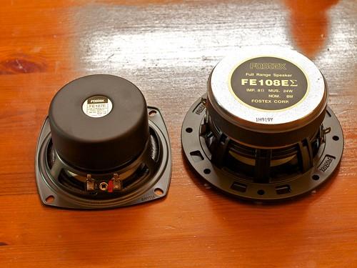 Fostex FE107E and FE108E-Sigma