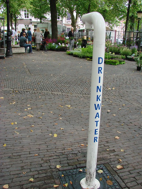 Water in Janskerkhof