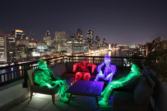 LightMen Above Manhattan