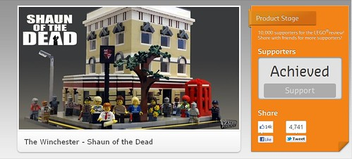 LEGO CUUSOO: The Winchester - Shaun of the Dead