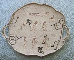 Clay Dancers Kokopelli Piece