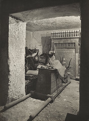 Treasury of Tutankhamun, 1926, by Harry Burton