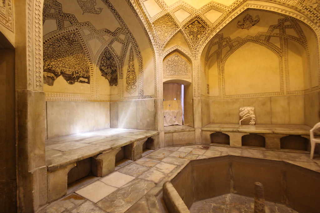 Bath inside the Arg of Karim Khan