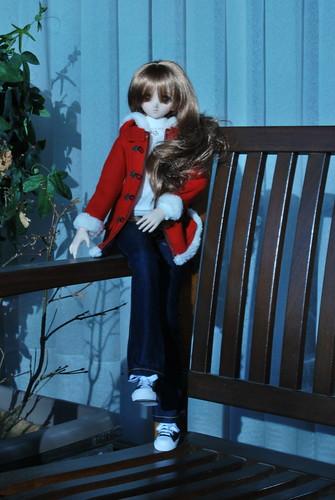 Yukino's first photo shoot