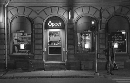 Uppsala by night