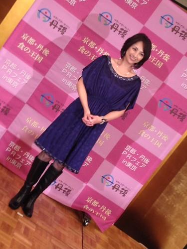 第2部は櫻井淳子さんのトークセッション@京都・丹後PRフェアin東京