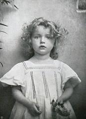 Portrait, 1907, by Mlle. O. Aubouard