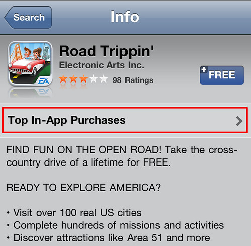 How to Tell an App isn't going to be fun - Exhibit C