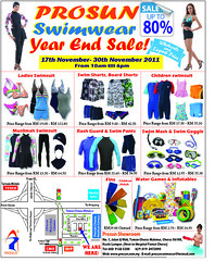 Prosun Swimwear Year End Sale 17 - 30 Nov 2011